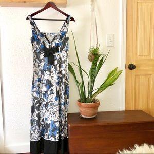 Kenzie floral maxi dress